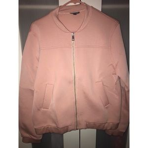 ae13efe76 Topshop Punch-Textured Bomber Jacket